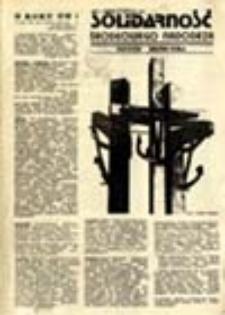 Solidarność Środkowego Nadodrza: Zielona Góra, 30 lipiec 1981, nr 12