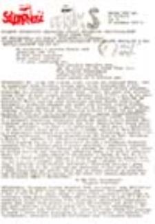 """Feniks: biuletyn informacyjny Regionalnej Komisji Wykonawczej NSZZ """"Solidarność"""": region - Gorzów Wlkp., nr 11/82 (5.09.-12.09.82 r.)"""
