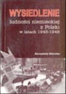 Wysiedlenie ludności niemieckiej z Polski w latach 1945-1949