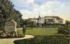 Dłużek / Dolzig; Schloss Dolzig; Geburtsstätte Ihrer Majestät der Kaiserin Auguste Victoria