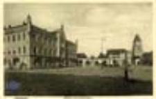 Sulęcin / Zielenzig; Markt und Rathaus