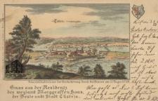 Kostrzyn / Cűstrin; Gruss aus der Residentz des weyland Marggraffen Hans der Beste undt Stadt Cűstrin