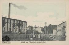 Strzelce Krajeńskie / Friedeberg; Ostbahnhof