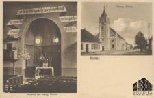 Babimost / Bomst; Evang. Kirche