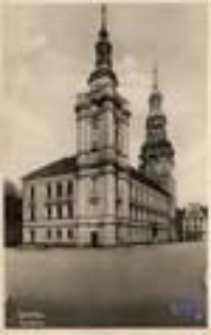 Szprotawa / Sprottau; Rathaus; Ratusz