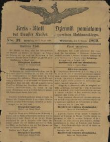 Kreisblatt des Bomster Kreises, Nro. 32. (6. August 1869)