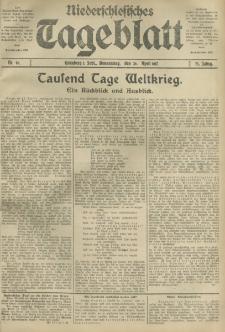 Niederschlesisches Tageblatt, no 96 (Donnerstag, den 26. April 1917)