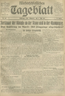 Niederschlesisches Tageblatt, no 107 (Mittwoch, den 9. Mai 1917)