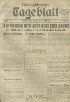 Niederschlesisches Tageblatt, no 117 (Dienstag, den 22. Mai 1917)