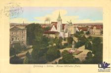Zielona Góra / Grünberg i. Schles.; Kaiser Wilhelm Platz; Plac Bohaterów