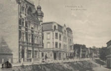 Krosno Odrzańskie / Crossen a.d. O.; Neue Brückenstrasse