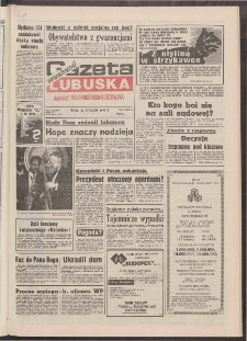 Gazeta Lubuska : weekend : dawniej Zielonogórska-Gorzowska R. XLI [właśc. XLII], nr 18 (22 stycznia 1993). - Wyd. 1