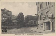 Gorzów Wlkp. / Landsberg a. W.; Gymnasium und Stadthaus
