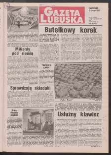 Gazeta Lubuska R. XLV [właśc. XLVI], nr 31 (6 lutego 1997). - Wyd. 1