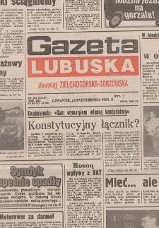 Gazeta Lubuska : dawniej Zielonogórska-Gorzowska R. XLI [właśc. XLII], nr 59 (11 marca 1993). - Wyd. 1