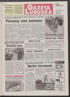 Gazeta Lubuska R. XLV [właśc. XLVI], rr 38 (14 lutego 1997). - Wyd. 1