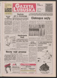 Gazeta Lubuska R. XLV [właśc. XLVI], nr 42 (19 lutego 1997). - Wyd. 1