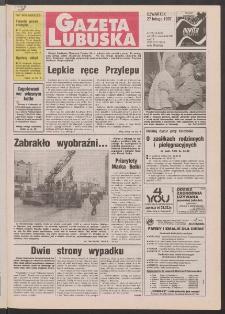 Gazeta Lubuska R. XLV [właśc. XLVI], nr 49 (27 lutego 1997). - Wyd. 1