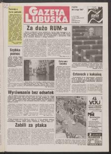 Gazeta Lubuska R. XLV [właśc. XLVI], nr 50 (28 lutego 1997). - Wyd. 1
