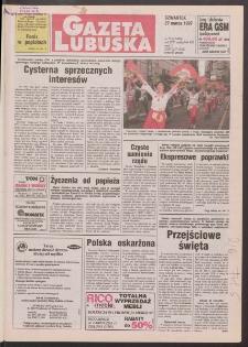 Gazeta Lubuska R. XLV [właśc. XLVI], nr 73 (27 marca 1997). - Wyd. 1