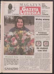 Gazeta Lubuska : magazyn R. XLV [właśc. XLVI], nr 75 (29/30/31 marca 1997). - Wyd. 1