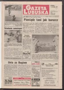 Gazeta Lubuska R. XLV [właśc. XLVI], nr 76 (1 kwietnia 1997). - Wyd. 1