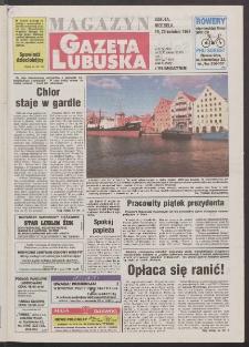 Gazeta Lubuska : magazyn R. XLV [właśc. XLVI], nr 92 (19/20 kwietnia 1997). - Wyd. 1