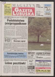 Gazeta Lubuska : magazyn R. XLV [właśc. XLVI], nr 114 (17/18 maja 1997). - Wyd. 1