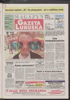 Gazeta Lubuska : magazyn R. XLV [właśc. XLVI], nr 120 (24/25 maja 1997). - Wyd. 1