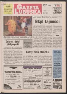 Gazeta Lubuska R. XLV [właśc. XLVI], nr 133 (10 czerwca 1997). - Wyd. 1