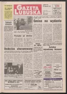Gazeta Lubuska R. XLV [właśc. XLVI], nr 135 (12 czerwca 1997). - Wyd. 1