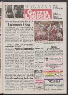 Gazeta Lubuska : magazyn R. XLV [właśc. XLVI], nr 143 (21/22 czerwca 1997). - Wyd. 1