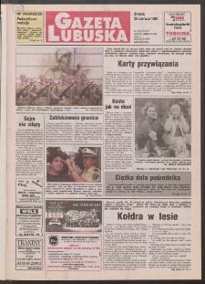 Gazeta Lubuska R. XLV [właśc. XLVI], nr 146 (25 czerwca 1997). - Wyd. 1
