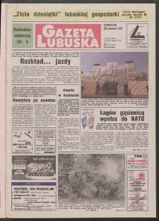 Gazeta Lubuska R. XLV [właśc. XLVI], nr 147 (26 czerwca 1997). - Wyd. 1