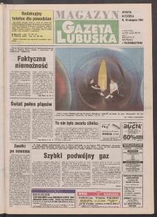 Gazeta Lubuska : magazyn R. XLV [właśc. XLVI], nr 185 (9/10 sierpnia 1997). - Wyd. 1