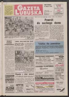 Gazeta Lubuska R. XLV [właśc. XLVI], nr 186 (11 sierpnia 1997). - Wyd. 1