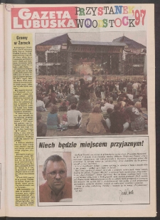 Gazeta Lubuska R. XLV [właśc. XLVI], nr 189 (14/15 sierpnia 1997). - Wyd. 1
