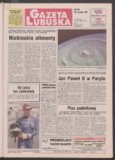 Gazeta Lubuska R. XLV [właśc. XLVI], nr 195 (22 sierpnia 1997). - Wyd. 1
