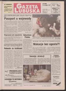 Gazeta Lubuska R. XLV [właśc. XLVI], nr 198 (26 sierpnia 1997). - Wyd. 1