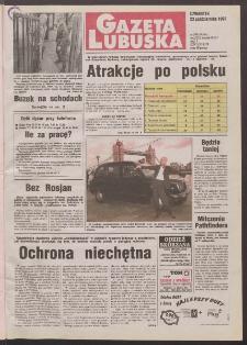 Gazeta Lubuska R. XLVI, nr 248 (23 października 1997). - Wyd. 1