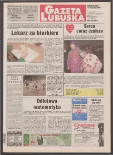 Gazeta Lubuska R. XLVIII [właśc. XLIX], nr 7 (10 stycznia 2000). - Wyd. A