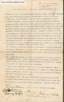Antoni Sawras - Kontrakt kupna sprzedaży