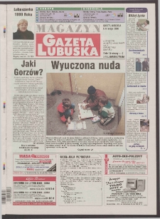 Gazeta Lubuska : magazyn R. XLVIII [właśc. XLIX], nr 30 (5/6 lutego 2000). - Wyd. A