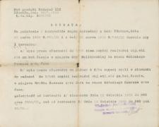 Antoni Sawras - Uchwała; Sąd grodzki Oddział III, L.dz.hip. 3501/32