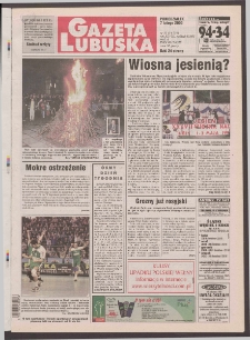 Gazeta Lubuska R. XLVIII [właśc. XLIX], nr 31 (7 lutego 2000). - Wyd. A