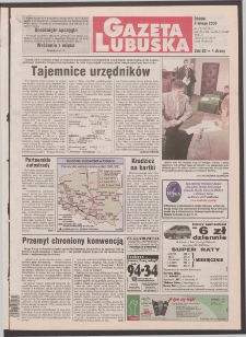 Gazeta Lubuska R. XLVIII [właśc. XLIX], nr 33 (9 lutego 2000). - Wyd. A