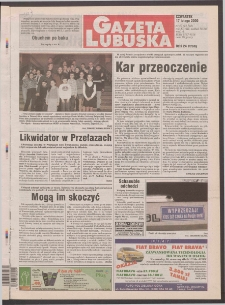 Gazeta Lubuska R. XLVIII [właśc. XLIX], nr 40 (17 lutego 2000). - Wyd. A