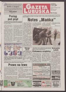 Gazeta Lubuska R. XLVIII [właśc. XLIX], nr 58 (9 marca 2000). - Wyd. A