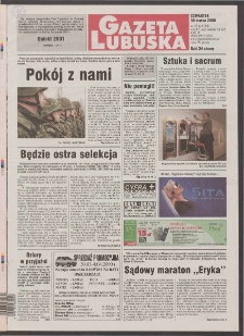 Gazeta Lubuska R. XLVIII [właśc. XLIX], nr 76 (30 marca 2000). - Wyd. A