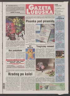 Gazeta Lubuska R. XLVIII [właśc. XLIX], nr 77 (31 marca 2000). - Wyd. A